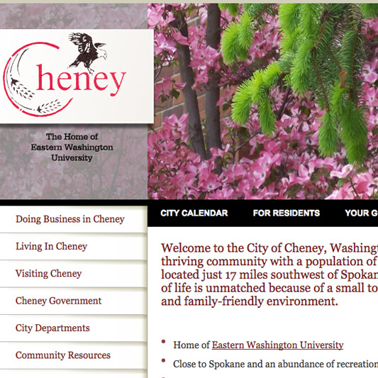City of Cheney Developers - Custom PHP Developers